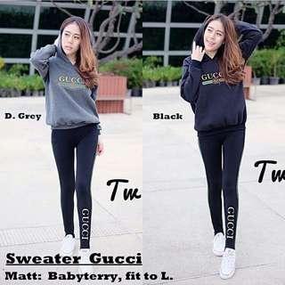 Winter sweater girl