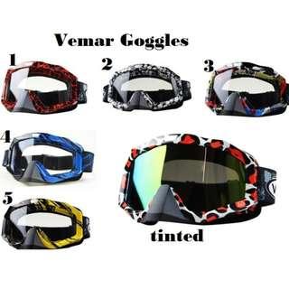 Vemar  Motocross Bike  Goggles