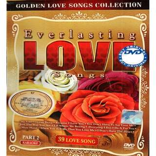 Everlasting Love Songs Part 2 Karaoke DVD