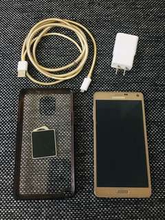 [URGENT SELLING] Preloved Samsung Note 4 (Rose Gold - 32GB) in good condition