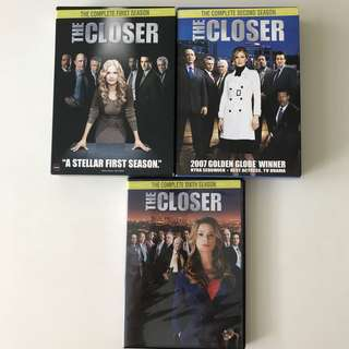 The Closer Series 1, 2 & 6 DVDs for Sale