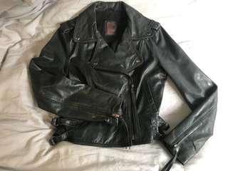 Leather Jacket 真皮皮褸