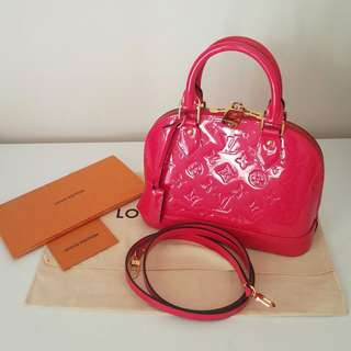 Louis Vuitton Alma BB lv pink