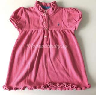 SALE! Authentic RL ruffled dress