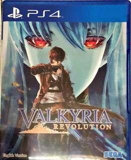 PS4 game: Valkyria Revolution