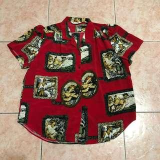 🚚 古著復古襯衫(日本製)
