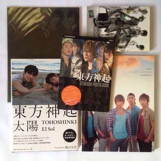 DBSK TVXQ official photobook tag photocard photo card - T the way you are shine otakara el sol tohoshinki