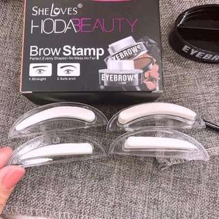 Brow stamp 2in1