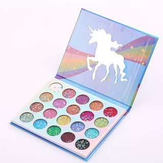 PO Unicorn glitter eyeshadow
