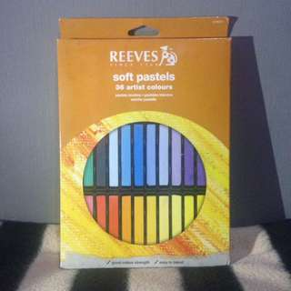 Reeves soft pastel 36 artist colours