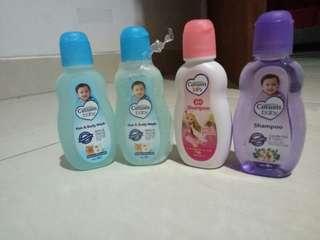 Cussons hair n body wash & shampo