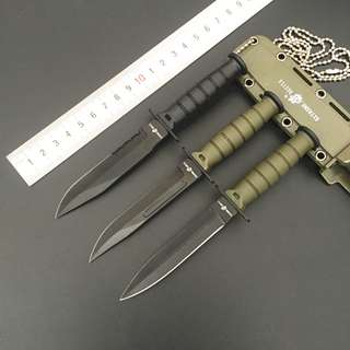 CSGO MINI Self Defence Camping Survival Straight Knife CSGO迷你防身户外小直刀#541