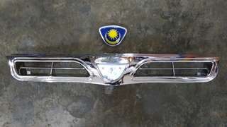 Proton Wira / Satria Grille (chrome) with Logo