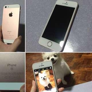 iPhone SE 64gb rosegold
