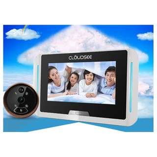 🚚 CloudSee Door Peephole Smart Camera | 1 Year Warranty