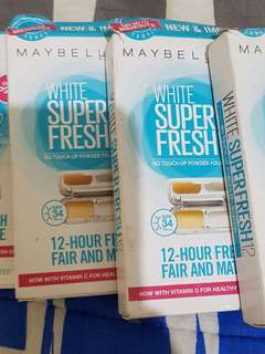 Maybelline super fresh