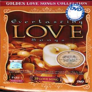 Everlasting Love Songs Part 7 Karaoke DVD