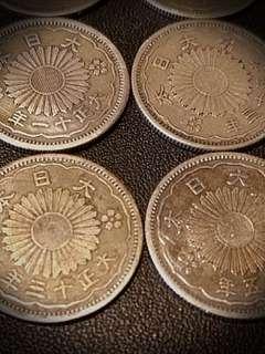 鳯凰50錢銀幣 (15枚)