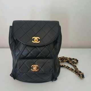 Chanel Classic Backpack vintage 背囊