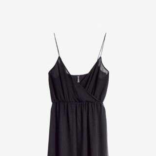 H&M Black Maxi Long Dress
