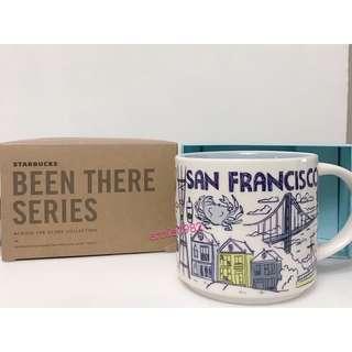 🚚 Starbucks 全新現貨 星巴克 馬克杯 / 舊金山 城市杯 San Francisco