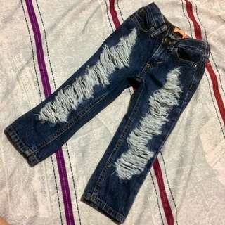 RIPPED JEANS FOR BABY GIRL