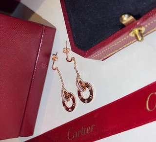 Cartier耳釘