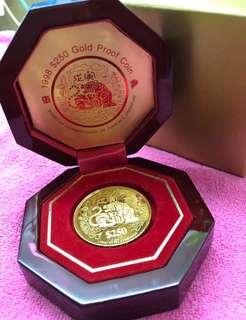 Zodiac Coin - With unique Tiger design - (999 Gold Series) ❤️❤️❤️