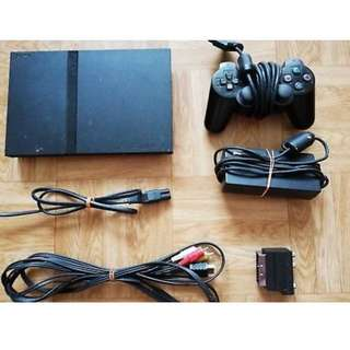 Playstation 2 PS2 Slim with 1 controller