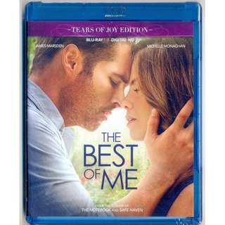 The Best Of Me - New Blu-Ray