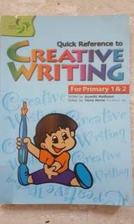 Quick Reference to Creative Writing for P1&2