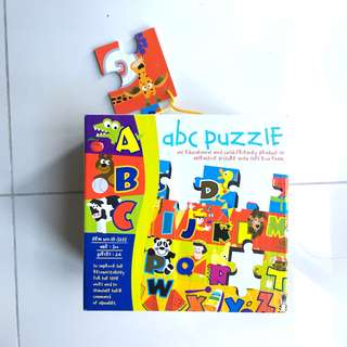 Large floor ABC foam jigsaw puzzle