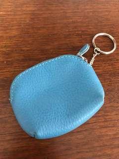 🚚 藍色零錢包