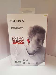 Sony MDR XB50SB (Red)