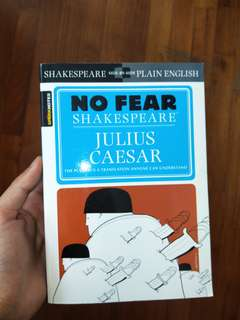 No fear Shakespeare julius caesar sparks notes
