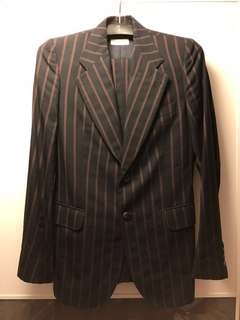 DRIES VAN NOTEN MEN'S SUIT - wool