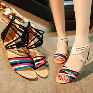 Multiple Strapped Sandals