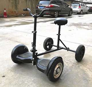 Hoverboard with seat for fun safer ride🏂