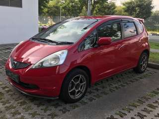 Honda Fit For Rent Grab/LongTerm