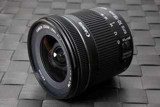 Lensa wide Canon 10-18mm stm bisa dicicil cukup bayar 200ribu(nikon)