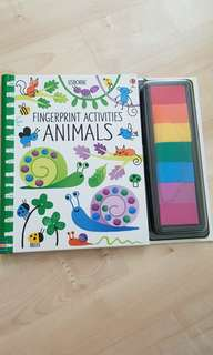 Fingerprint Activities Animals - Educational Toy