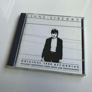 Jane Siberry - Original 1980 Recording CD Album