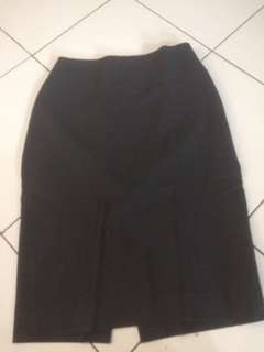 Zara Basic grey skirt