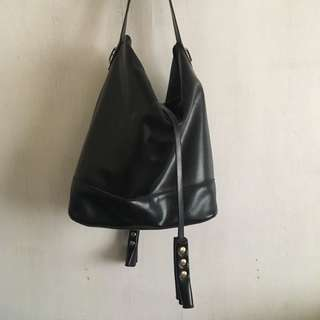 Michaela black hand bag