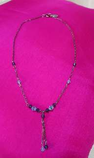 Pre-loved Blue stone necklace