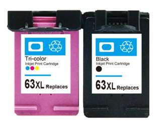 HP 63 XL Ink Cartridges