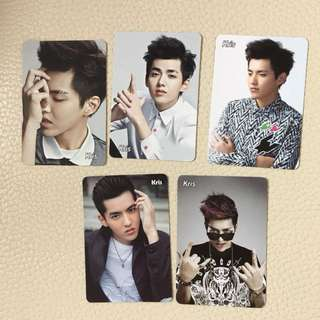 Yescard exo kris 吳亦凡