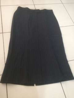 MNG stripes skirt