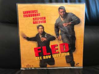 Fled see how they run Laser Disc