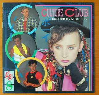 "Vinyl LP: Culture Club ""Colour By Numbers"""